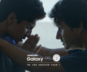 Samsung décline la campagne « We are greater than I » au surf et au cyclisme