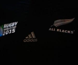 Nouveau Maillot des All Blacks pour la Coupe du Monde de Rugby 2015 (adidas)