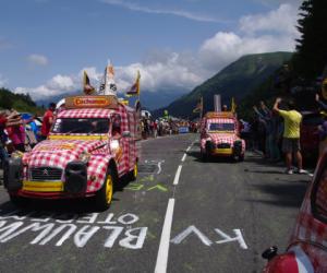 Les marques présentes dans la Caravane Publicitaire du Tour de France 2015