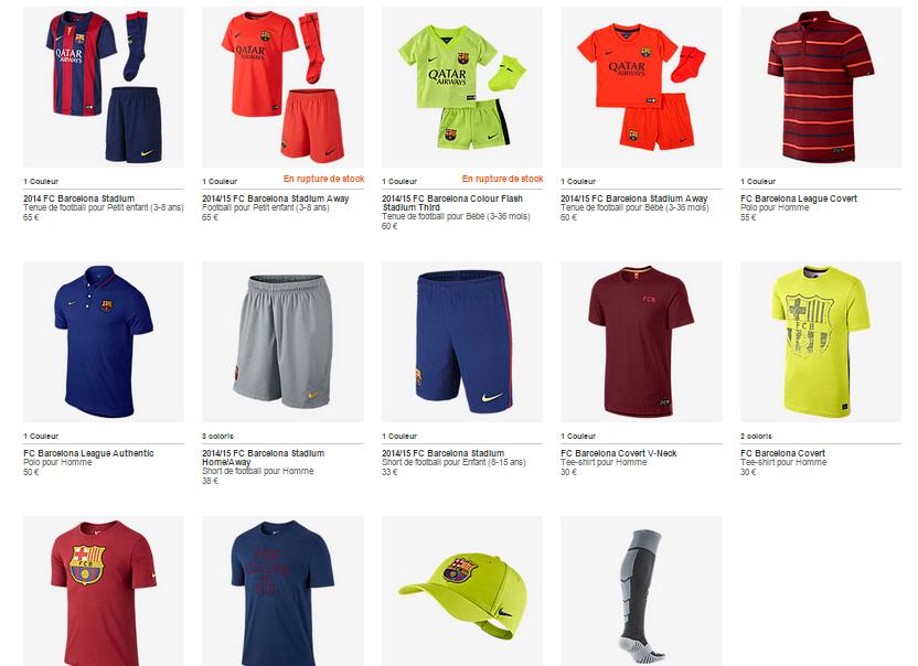BON PLAN : 50% sur certains produits Nike collection FC
