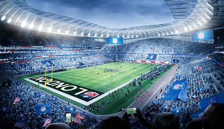 tottenham NFL stadium