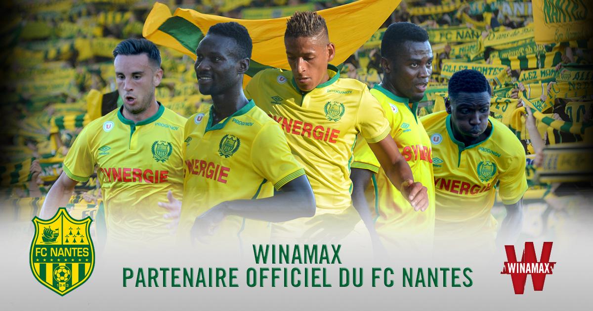 winamax FC Nantes sponsor