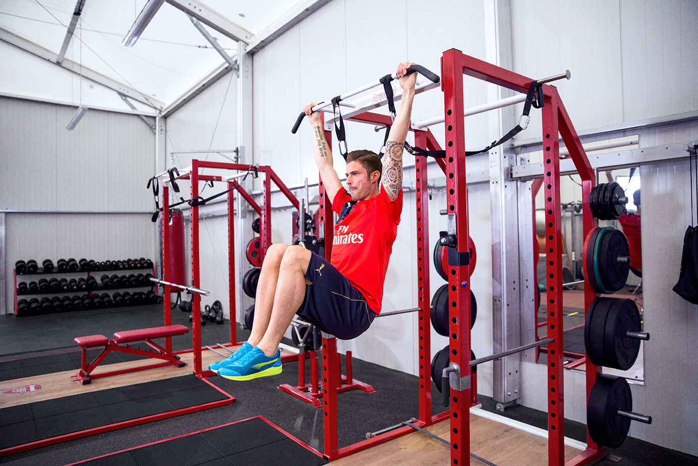 Arsenal Puma what are you training for