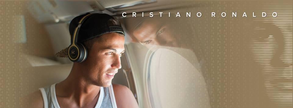 Cristiano ronaldo casques audio Monster ROC live life loud