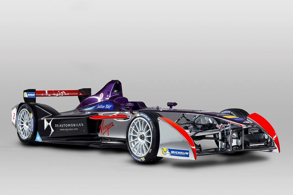 DS virgin racing formula E 2016