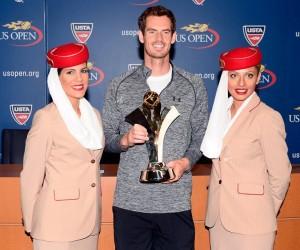 Comment Andy Murray peut faire sauter la banque à l'US Open 2015 grâce à Emirates