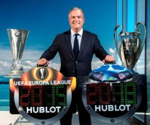 Hublot nouveau partenaire de l'UEFA Champions League et de l'Europa League