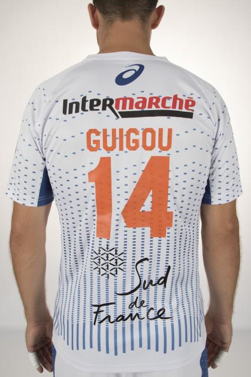 Maillot extérieur Montpellier handball Asics