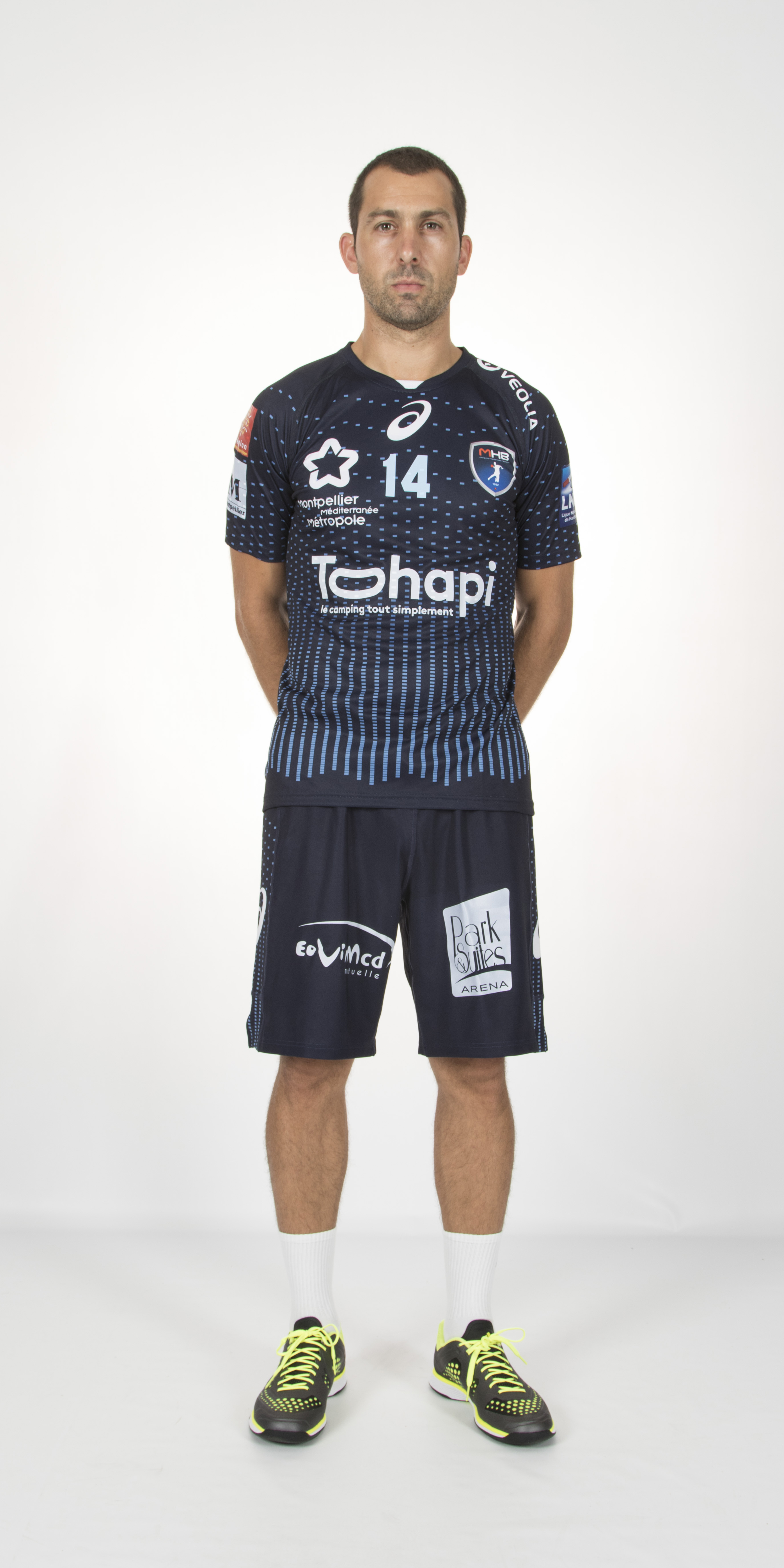 nouveaux maillots montpellier handball 2015 2016 asics. Black Bedroom Furniture Sets. Home Design Ideas