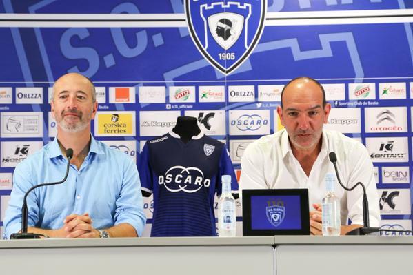 Oscaro SPonsor SC Bastia 2018 ligue 1