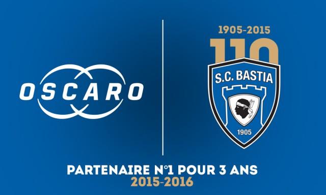 Oscaro sponsor SC Bastia