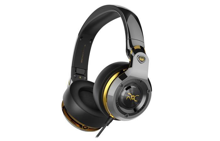 ROC Sport Black Platinum Over-Ear Headphones Cristiano Ronaldo