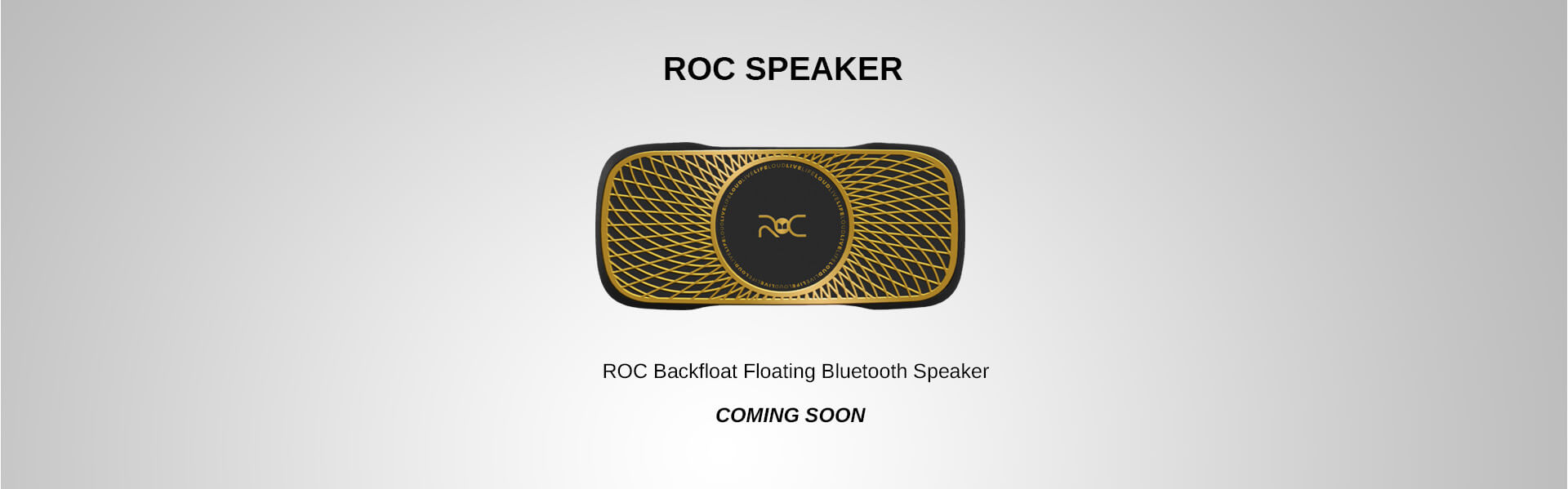 ROC blackfloat speaker Cristiano Ronaldo Monster