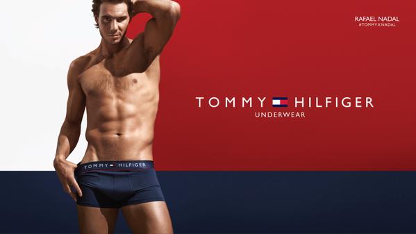 Rafael Nadal Underwear Tommy Hilfiger sexy