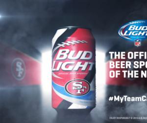 Bud Light sort des canettes de bière aux couleurs de 28 franchises NFL