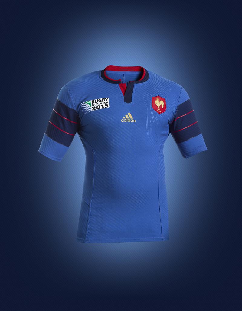 Nouveaux maillots adidas du xv de france pour la coupe du monde de rugby 2015 - Maillot equipe de france coupe du monde 2014 ...