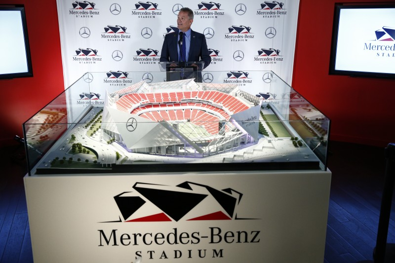 mercedes-Benz Stadium Atlanta Naming
