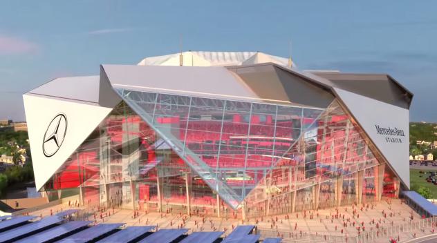 Mercedes benz s 39 offre le naming du nouveau stade d 39 atlanta for Mercedes benz stadium atlanta jobs