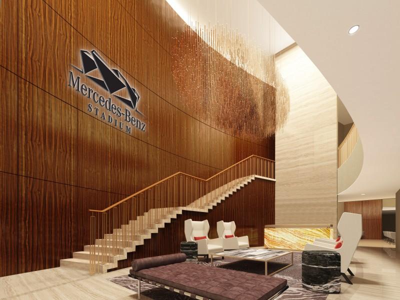 mercedes-benz Stadium VIP suites