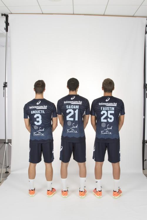 nouveau maillot domicile Montpellier Handball Ascis
