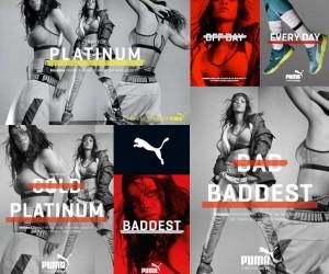 Puma lance sa nouvelle campagne à plusieurs millions d'euros avec Usain Bolt et la chanteuse Rihanna