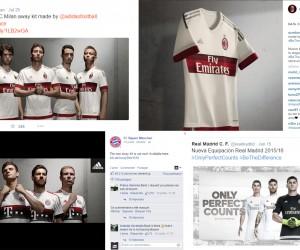 Quelle valorisation «Social Media» pour adidas grâce à ses principaux clubs ?