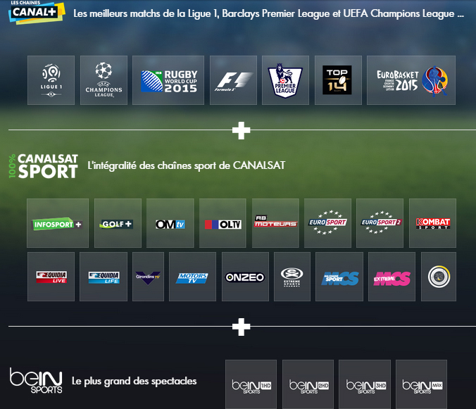 totale sport canal plus canalsat bein sports promo