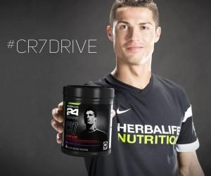 Cristiano Ronaldo a désormais sa propre boisson pour le sport avec «CR7 Drive»