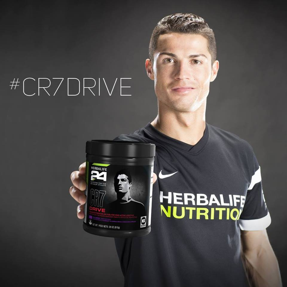 CR7 Drive sports drink cristiano ronaldo Herbalife