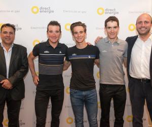 Direct Energie succède à Europcar comme sponsor principal de l'équipe cycliste de Jean-René Bernaudeau
