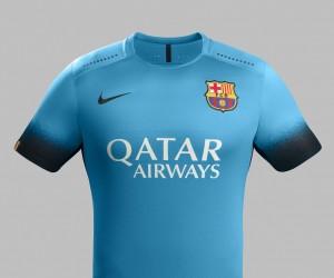 Un 3ème maillot bleu électrique pour le FC Barcelone (Nike)