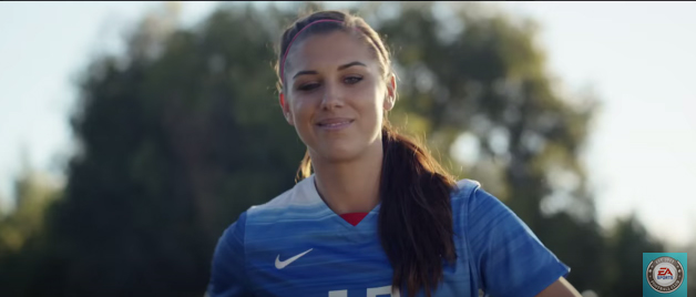 FIFA 16 commercial alex morgan
