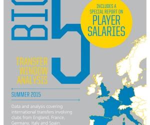 Rapport FIFA TMS sur les transferts internationaux du BIG 5 lors du mercato estival 2015
