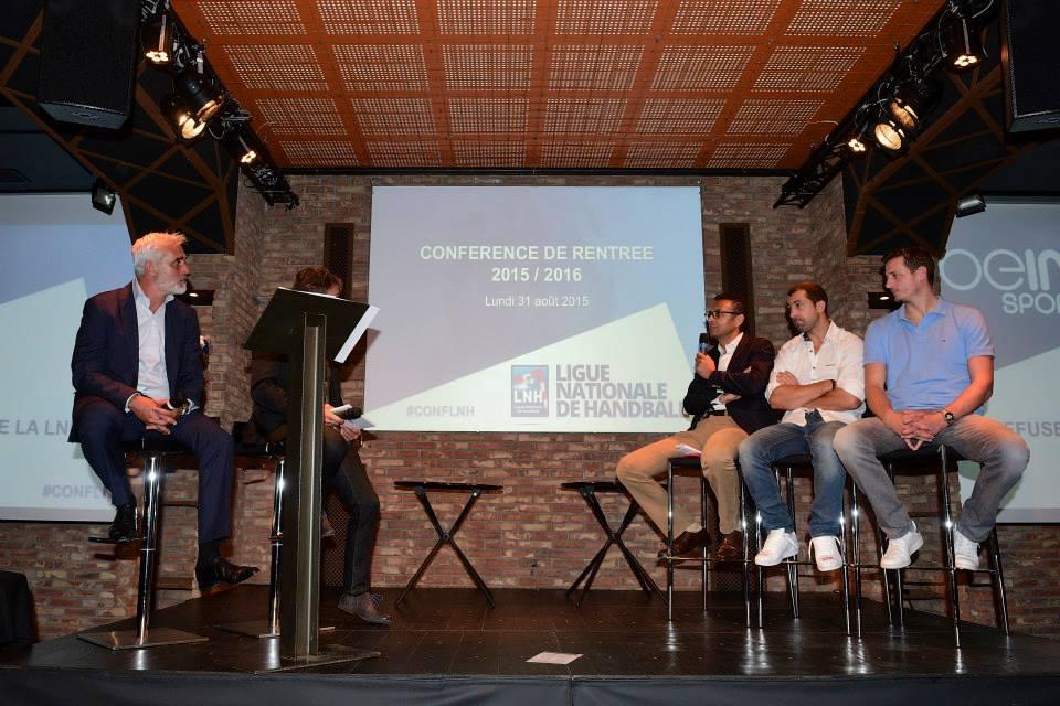 LNH conférence de rentrée handball