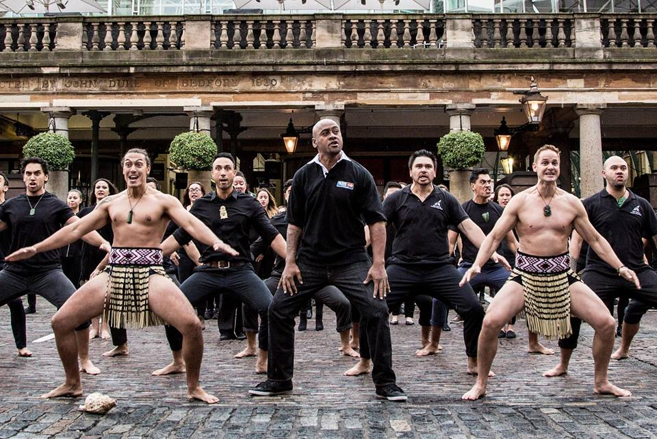 MasterCard jonah Lomu haka priceless surprise covent garden rugby world cup