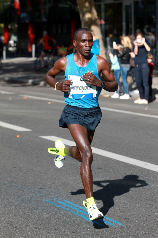 Nike shoe fail berlin marathon Eliud Kipchoge