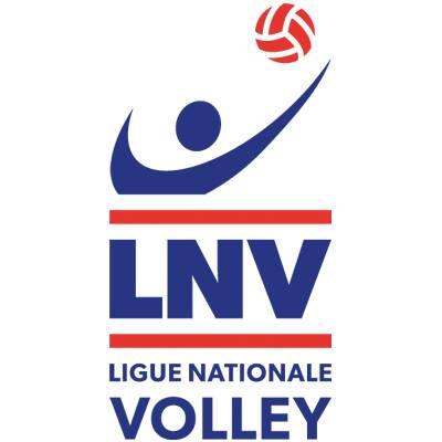 Nouveau logo Ligue nationale de volley LNV 2015 agence public averti