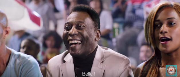 Pelé FIFA 16 commercial TV ea sports