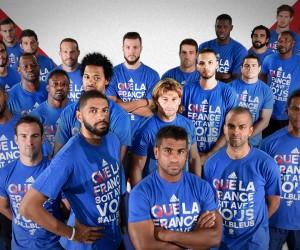 «Que la France soit avec vous» – adidas derrière les bleus du basket et du rugby
