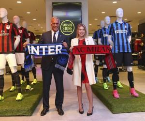 Le Milan AC et l'Inter partageront une même boutique à San Siro