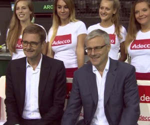 Tennis – Adecco prolonge son partenariat avec la Coupe Davis et la Fed Cup