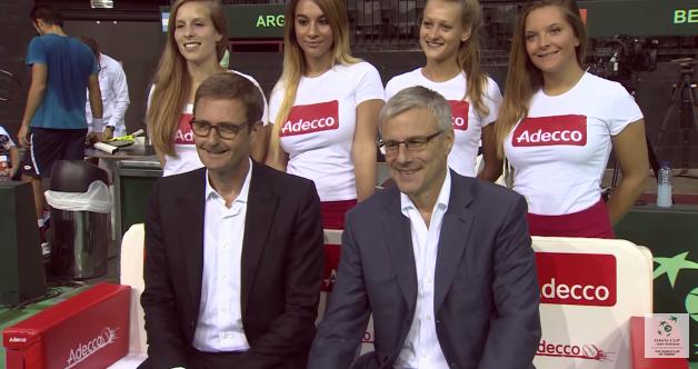 adecco sponsors David Cup ITF 2019