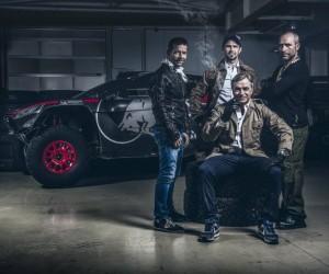 Dakar 2016 – Peugeot met en scène l'arrivée de Sébastien Loeb façon «Agence tous risque»