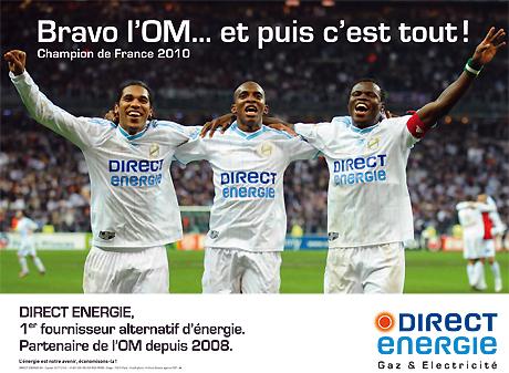 direct Energie Olympique de Marseille