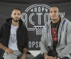 Evan Fournier et Rudy Gobert investissent dans le futur centre indoor de basket «Hoops Factory»