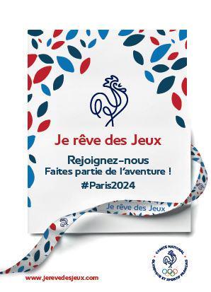 je rêve des Jeux CNOSF crowdfunding bracelet paris 2024 JO