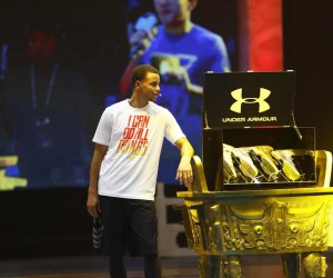 """Under Armour lance les """"Curry II"""" lors d'une tournée promotionnelle en Chine"""