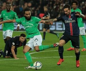 Investing Area nouveau sponsor sur le short de l'AS Saint-Etienne