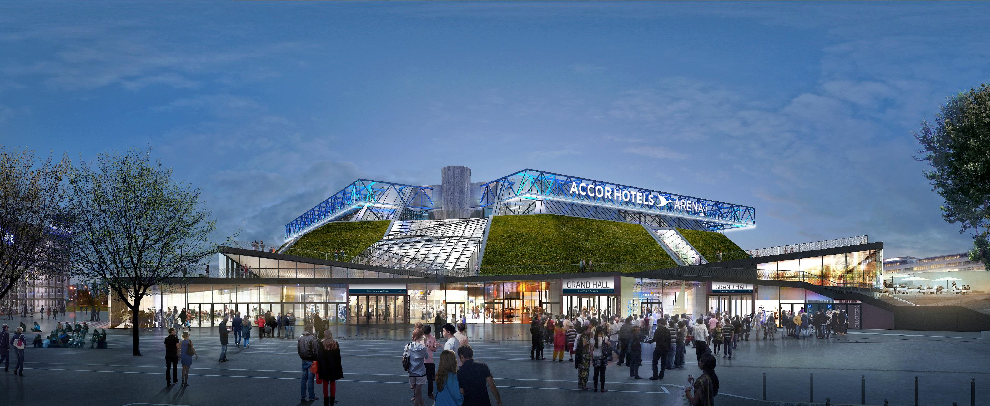 Accorhotels arena Naming Bercy