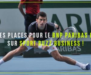 [Résultats concours] 40 places pour le BNP Paribas Masters 2015 à gagner sur Sport Buzz Business